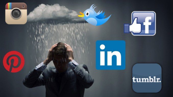 How social media affects one's mental health