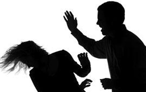a typical illustration of violence against women